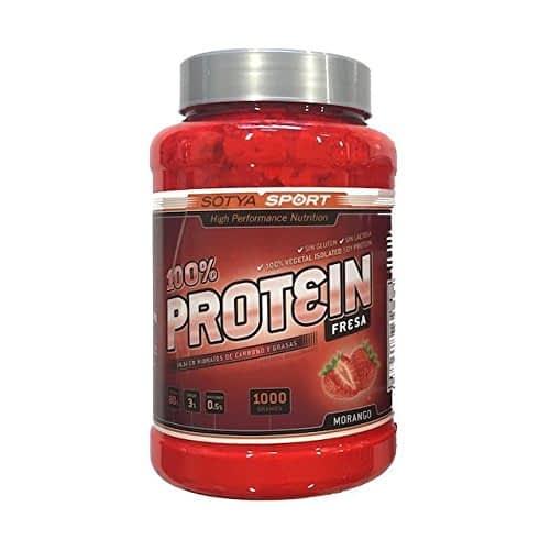 Sotya Proteine, al 90%, gusto fragola, 1kg