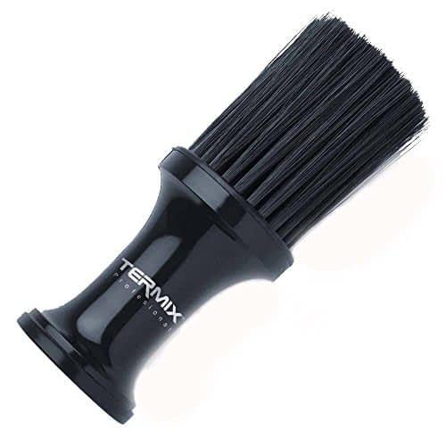 Termix Pennello professionale per talco, colore nero e fibre nere. Spazzola con fibre morbide per lavorare con la massima pulizia