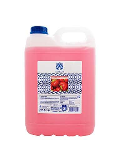 Valquer Profesional New Shampoo Speciale alla Fragola per Parrucchieri [Shampoo Professionale - 5000 ml]