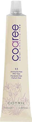 Cotril Coaree tinta per capelli 9.4 Biondo Chiarissimo Rame 100ml Senza Ammoniaca, PPD, Parabeni, Profumo