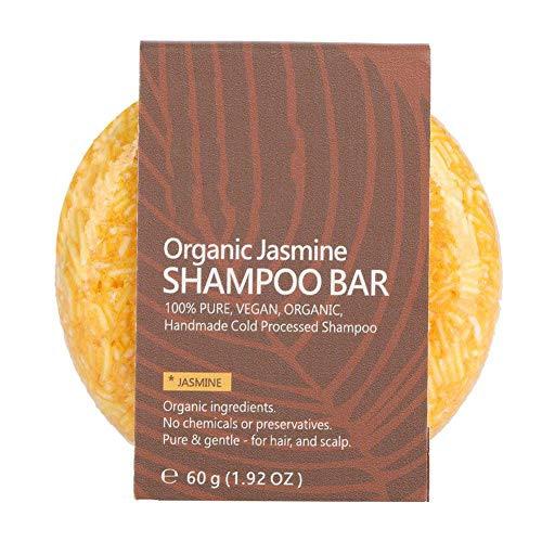 Shampoo Bar Hair Conditioner Natural Plant Extract Olio Essenziale per Capelli Shampoo Sapone Trattamenti per la Perdita di Capelli del Cuoio Capelluto(Jasmine)